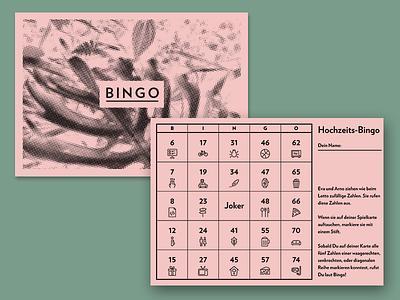 Bingo Cards bingo icons verlag hoefler numbers wedding game