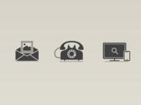 Mozilla surveillance campaign Icons