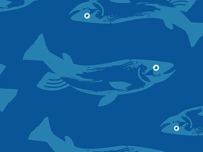 Fish illustration pattern fish summer