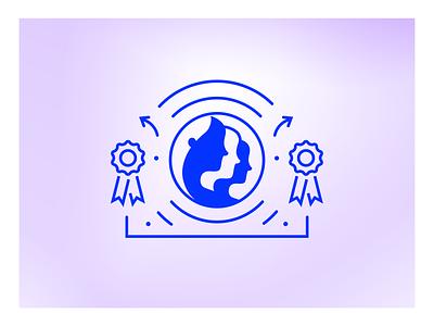 Mozilla Fellowships & Awards detail fellowship profile icon design awards