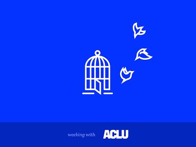 Mozilla Fellowships & Awards detail byline credit aclu birds birdcage illustration icon design free