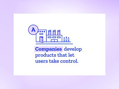 Mozilla Fellowships & Awards detail process product factory illustration