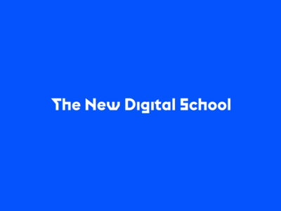 The New Digital School  masterclass workshop project mentoring teaching ui ux concept logo digital school new the