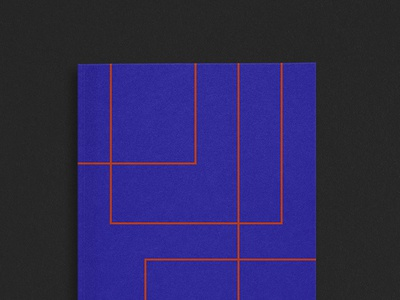 Exquisite Notes minimal line electric geometric print notebooks color neoplasticism notes exquisite