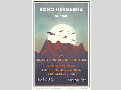Echo Nebraska on Tour Fall 2016
