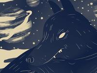Wolf God Print 4