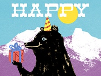 Bearthday Card