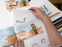 The Little Prince Coloring Activity