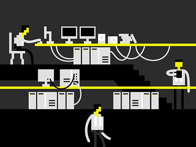 8bit Computing pixel art styleframe