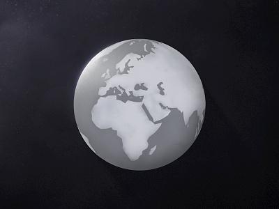 Global educational earth world illustration explainer