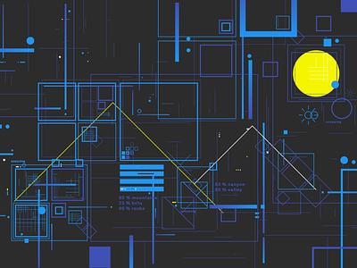 Analyzing machine learning styleframe illustration ai elements