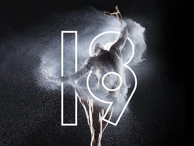 Canada's National Arts Centre: Dance 18/19 Season print layout editorial blackwhite art direction design typography