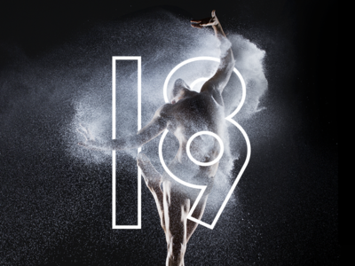 Canada's National Arts Centre: Dance 18/19 Season print layout editorial blackwhite art direction design typography