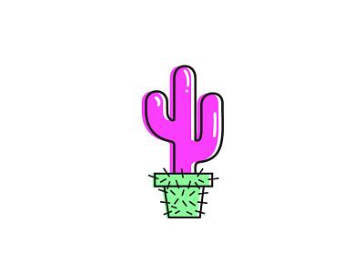 Reverse cactus plants icon opposite reverse succulents cactus