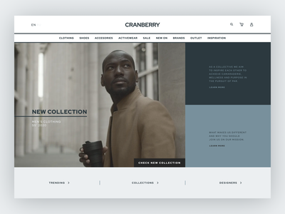 E-commerce Website design ui e-commerce shop website grey concept promo interface e-shop homepage e-commerce website e-commerce