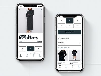 E-commerce UI Kit | Product Page ui kit e-commerce shop online store store e-commerce e-commerce app design ios ui mobile app app design app