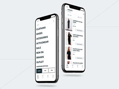 E-commerce UI Kit | Catalog and List View Pages mobile app design ios application ui app store clothing online store store ios app ecommerce ui kit ui app design app