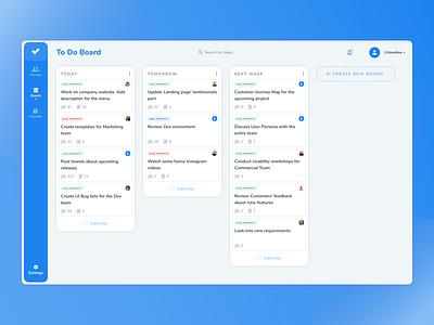 To Do Dashboard dashboard design dashboard app dashboard ui todo dashboard app design app management
