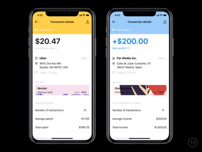 Transaction details icons transaction adobe illustrator cc sketch wallet banking interface ios app mobile ux ui