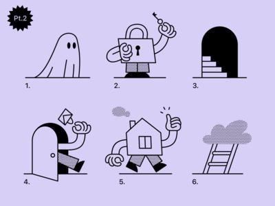 Wallet app illustrations