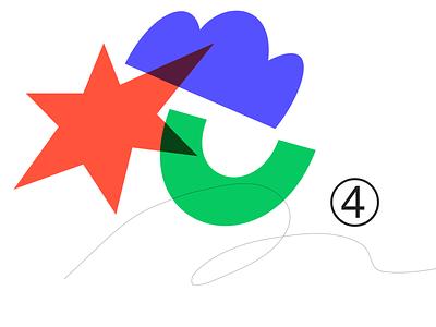 Random shape 004L ui overlay color design adobe illustrator illustration simple sketch shape