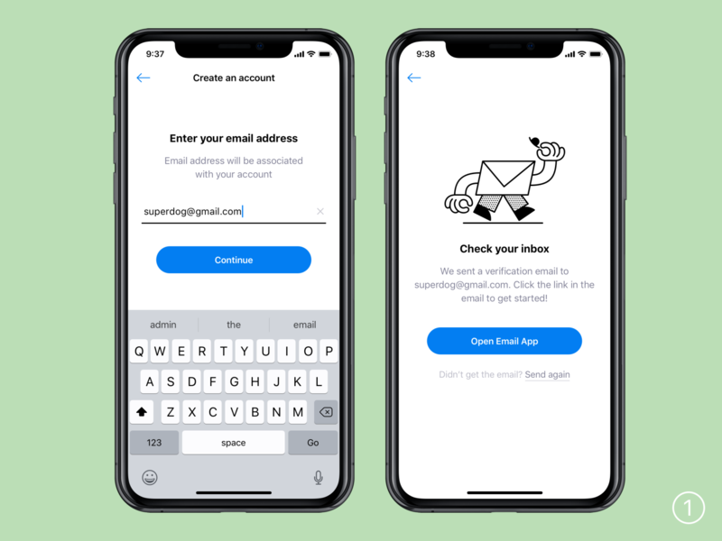 Create an account banking app sign up icons mobile ios profile account create account ui ux interface illustration sketch illustrator cc