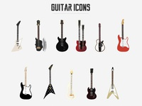 My Guitar Icons