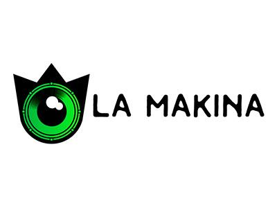 lamakina branding logo music