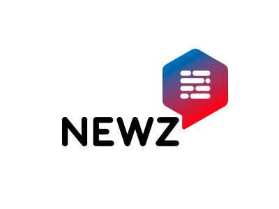 Newz chile information personal brand logo broadcasting news