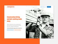 Tradeworthy Jobs Marketing Website