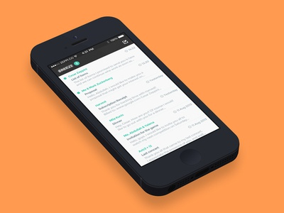 Mobile Email Client