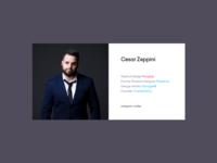 Cesar's Boring Website
