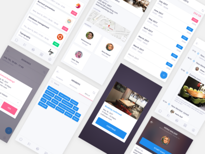 Coworking space mobile app