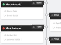 Tasks Timeline