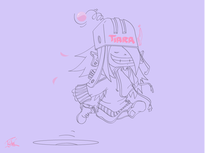 Little Miss Sunshine bounce ball sunshine miss little illustrator illustration