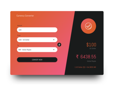 Currency Converter Web Application