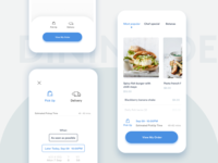Dining page app conpact