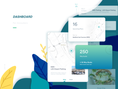 Dashboard for customers