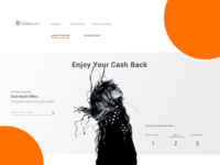 Cash Back Concept home page