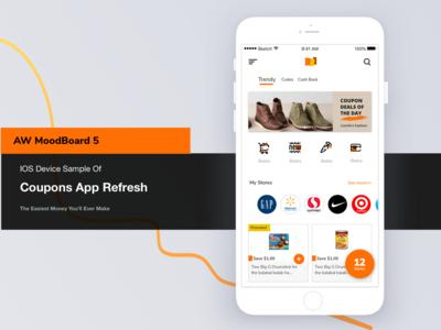 Concept of refresh app