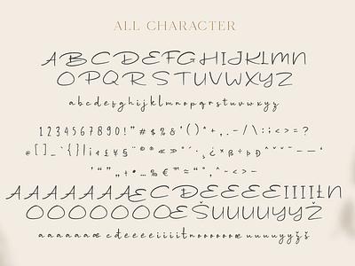Wondeur - Modern Script Font sans sans serif vintage retro elegant logo brush creative lettering typeface font