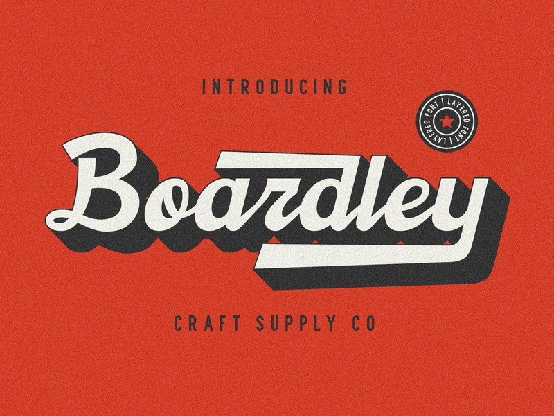 Boardley Script - Free download pastel europe ux clean vintage sans serif retro logo sans creative elegant lettering brush typeface font typography branding vector design illustration