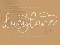 Lucylane Signature Font - Free download