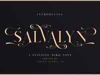 Salvalyn - Stylistic Serif Font