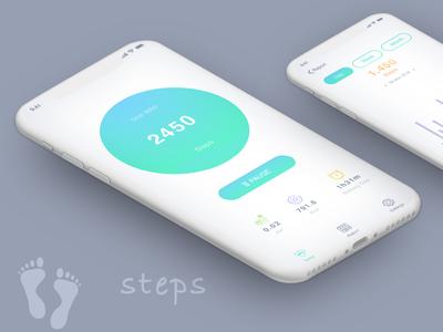 Steps Fitness App 02