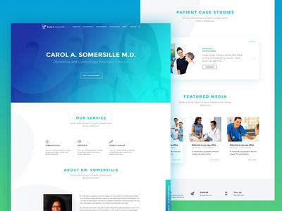 Doctor Prifie Landing Page