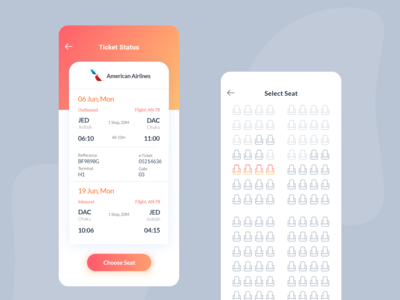 Travel App - Ticket Booking 01