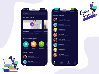 Home - Online Course App
