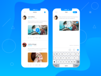 Social Post Concept Apps