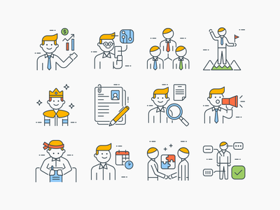 Business People Icons character icons user icons vector icons people icons marketing icons business icons people marketing man icons iconography character user business icon vector